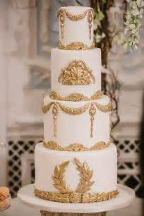 gold wedding cake gold wedding white gold wedding cakes 2097280 weddbook