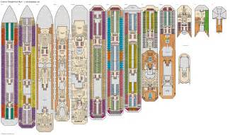 carnival cruise ship deck plans pics punchaos