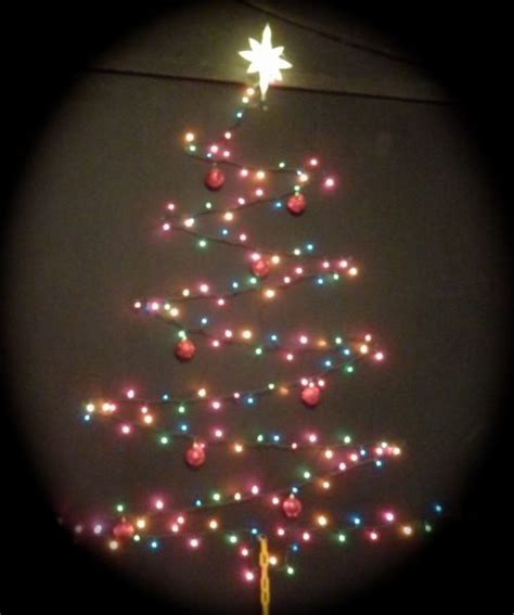 light tree on wall how to make a chrismas wall tree 15 amazing wall