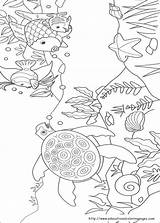 Fish Rainbow Coloring Pages Printable Boys sketch template
