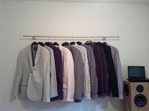hang clothes on wall hang clothes on wall home design