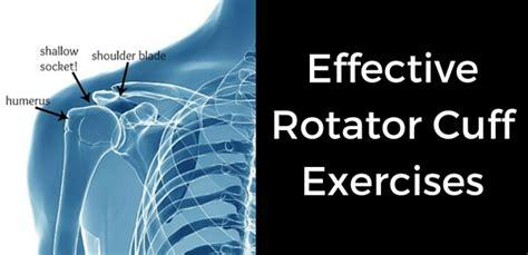 Effective Rotator Cuff Exercises