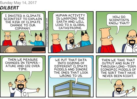 In A Single Comic Strip, Dilbert Just Nuked Global Warming