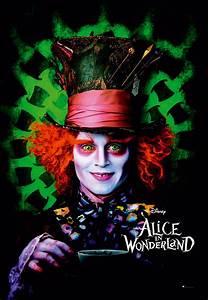 Hutmacher Alice Im Wunderland : alice im wunderland poster hutmacher johnny depp mit ~ Watch28wear.com Haus und Dekorationen