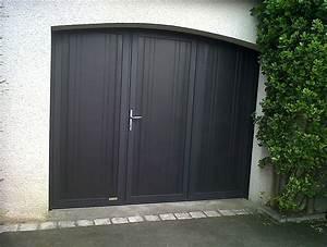 pose de porte de garage autour de rennes aluminium With porte garage 3 vantaux