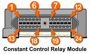 Constant Control Relay Module Pinout  1994