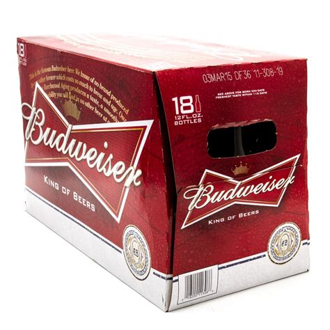 18 pack of bud light price budweiser beer 12oz bottle 18 pack beer wine and
