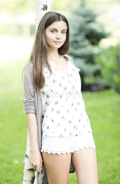 Beautiful Teen Girl Outdoor Royalty Free Stock Images Image 33118429