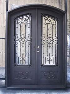 exterior wrought iron arch shaped door grill designs id