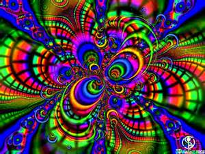 Color Psychedelic Trippy Art