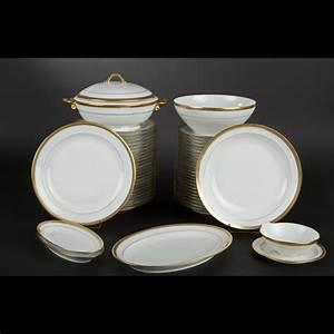 Service De Table Porcelaine : limoges partie de service de table en porcelaine 2011120456 expertissim ~ Teatrodelosmanantiales.com Idées de Décoration
