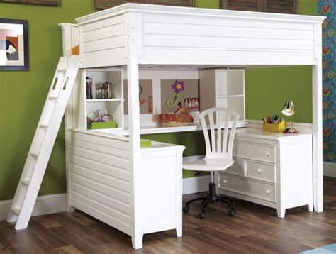 loft bed with white size wooden loft bed home improvement 2018