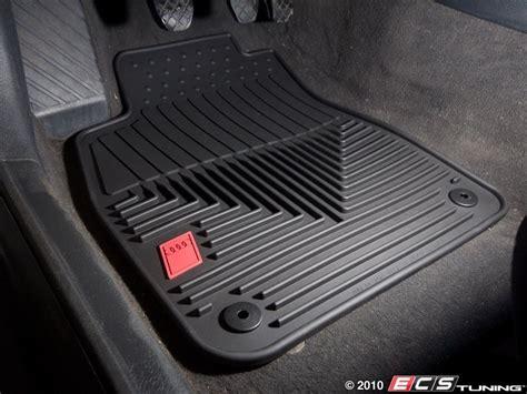 audi floor mats genuine volkswagen audi zaw179004blk all weather