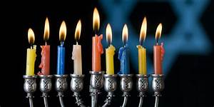 How To Light The Menorah And Hanukkah Eichlers Com Candles Oils Wicks Bulbs Glasses And