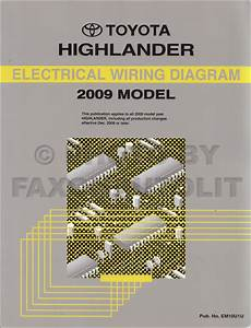 2003 Toyota Highlander Electrical Wiring Diagrams Service Shop Repair