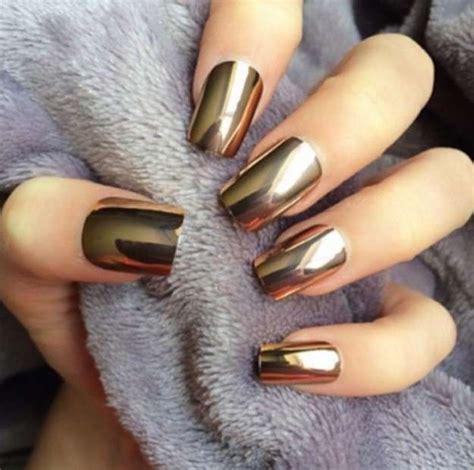 mirror nails oro franquicias  unas