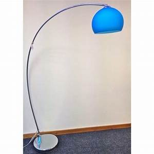 Buy modern retro floor lamp blue retro style floor light for Buy retro floor lamp