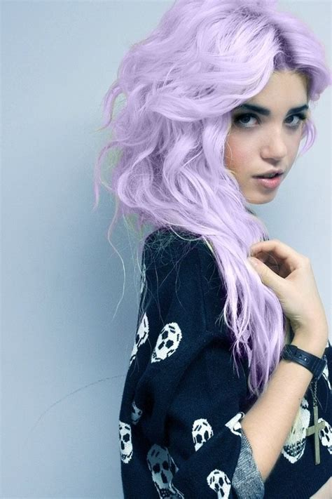 light purple hair dye the different shades of purple hair which one is for you