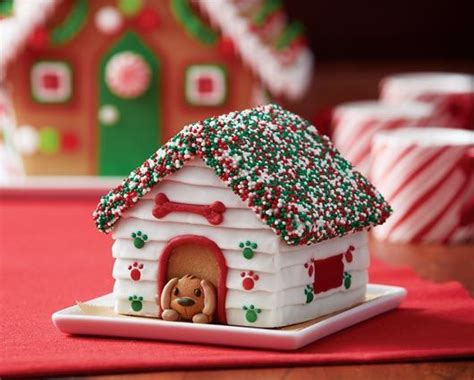 ways  decorate  gingerbread dog house