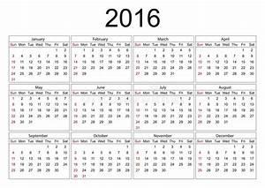 Kalender För 2016 På Vit Bakgrund Vektor Illustrationer