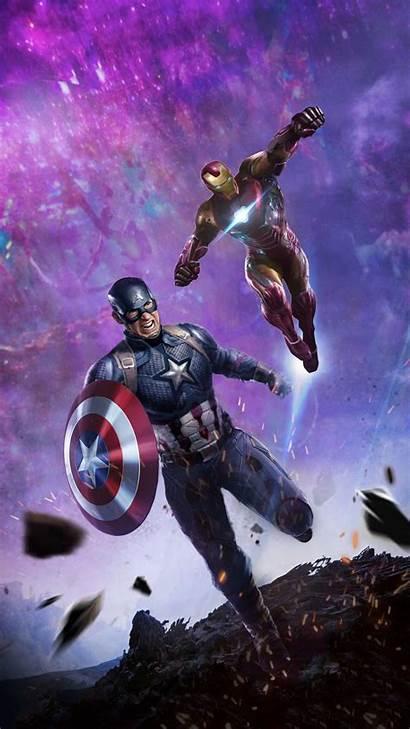 Iron Captain America End Endgame Avengers Iphone