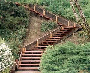 Gartentreppe Bauen Holz : gartentreppe selber bauen 35 inspirationen hochbeet pinterest garden stairs garden ~ Eleganceandgraceweddings.com Haus und Dekorationen
