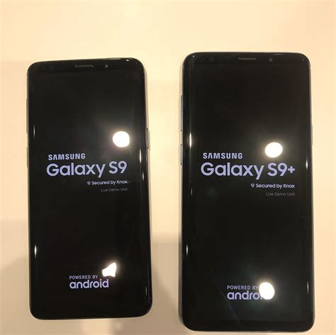 more real samsung galaxy s9 and s9 pictures leak