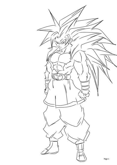 goku coloring pages  marbal