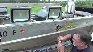 Led Voltage To Hull Of Boat