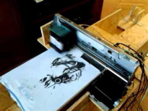hp   shirt printer homemade youtube