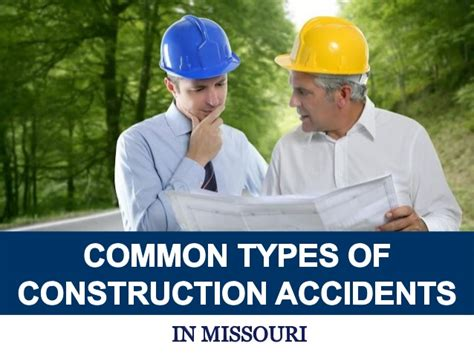 Common Types Of Construction Accidents In Missouri