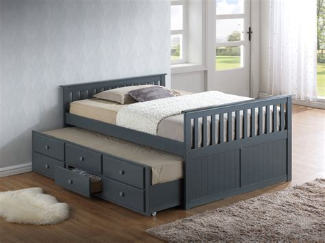 Captains Bed by Broyhill Marco Island Captains Bed Standard Beds At