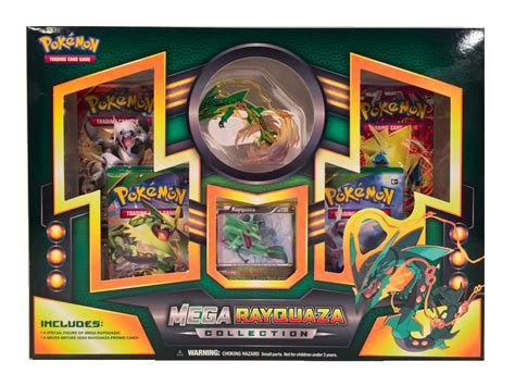 pokemon mega rayquaza premium collection box da card world