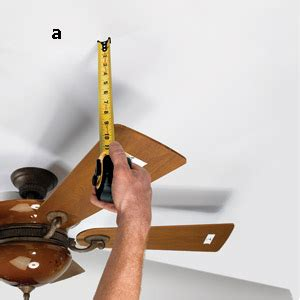 Balance Wobbly Ceiling Fan by Balancing A Ceiling Fan Cooling Plumbing Hvac
