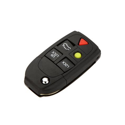 buttons flip folding car key shell replacement  volvo