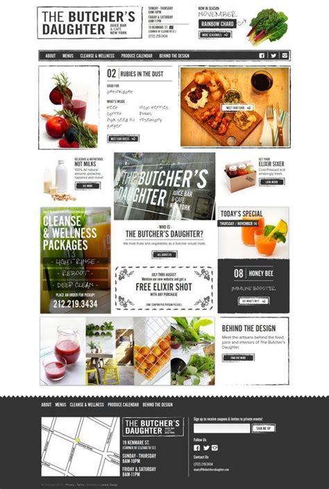 butcher template joomla 29 best images about website inspiration for alcoholic