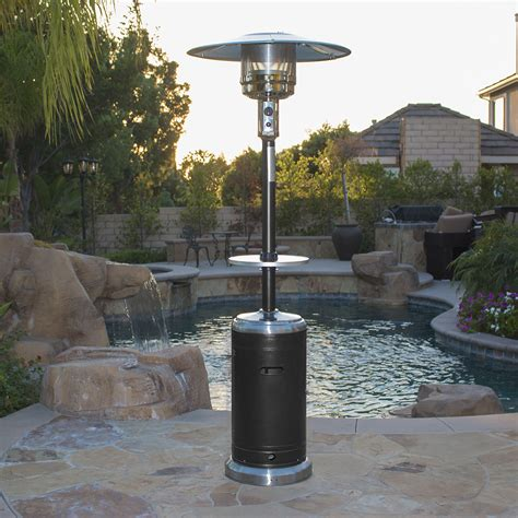 black hammer tone bronze commercial patio heater propane