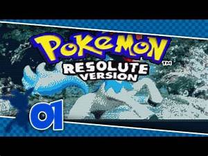 Pokemon Version Youtube : pokemon resolute version part 1 youtube ~ Medecine-chirurgie-esthetiques.com Avis de Voitures