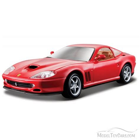 toy ferrari model cars ferrari 550 maranello hard top red bburago 26004 1 24