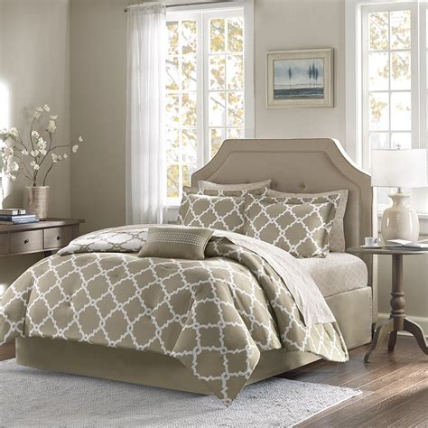 taupe sets bedding bed sheet twin park madison amazon