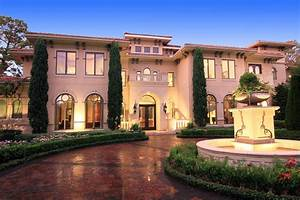 Newly Listed Gated Tuscan Mansion In Houston, TX Homes