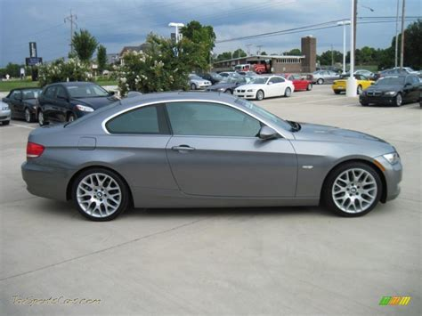 Bmw 328i Coupe by 2007 Bmw 3 Series 328i Coupe In Space Gray Metallic Photo