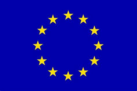 kostenlose vektorgrafik europa flagge rat europaeische