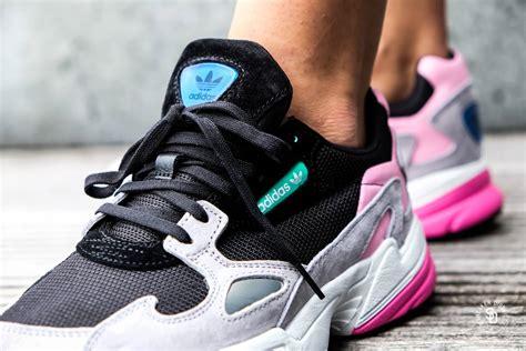 sports shoes d928d 1d6f0 1600 x 1067 www.sneakerdistrict.com. Adidas Women39s Falcon Core BlackLight  Granite ...