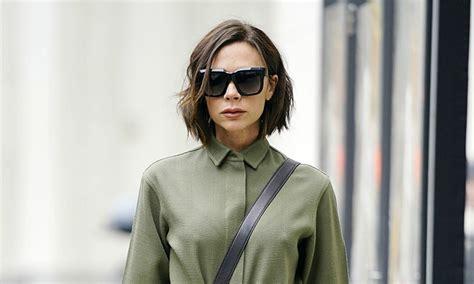 Victoria Beckham Debuts New Bob Haircut