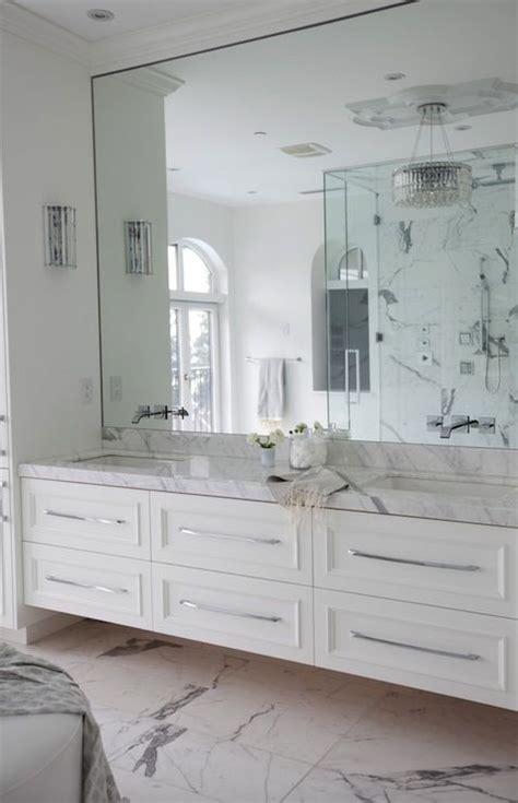 bathroom mirrors  cut  glass