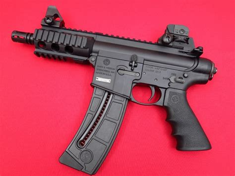 smith wesson mp p  lr ar  pistol   rnd magsnice shape  sale  gunauction