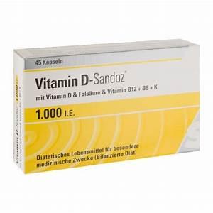 Vitamin D Dosierung Berechnen : vitamin d sandoz osteo complex 1000 i e 45 st ck ~ Themetempest.com Abrechnung