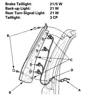 light assembly how do i replace it honda tech