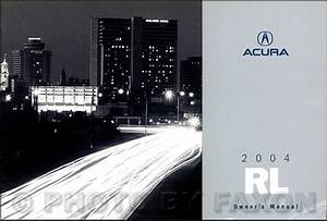 2004 Acura 3 5 Rl Navigation Repair Shop Manual Original